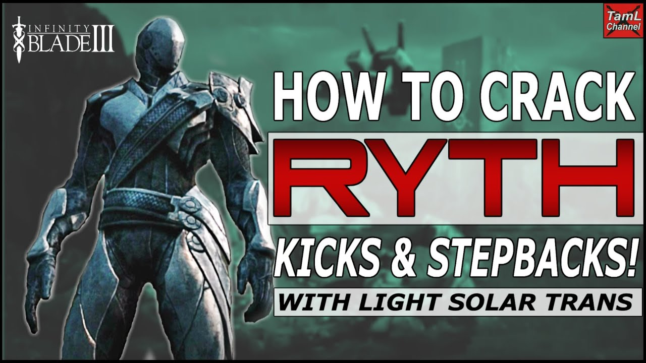 how to find ryth in infinity blade 3