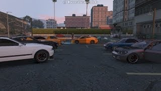Grand Theft Auto V Online (Xbox 360) Street Car Meet Pt