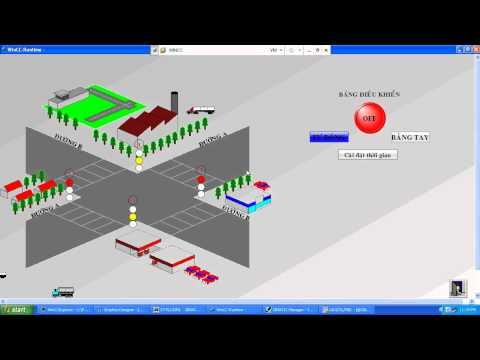 SCADA WinCC - Đèn giao thông.avi