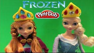 Coronite Din Plastelina Pentru Printesa Anna Si Elsa