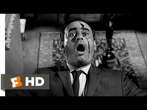 Psycho (10/12) Movie CLIP - Arbogast Meets Mother (1960) HD