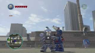 LEGO Marvel Superheroes War Machine Free Roam Gameplay