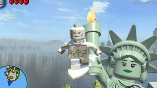 LEGO Marvel Super Heroes (PS4) Silver Surfer Free Roam