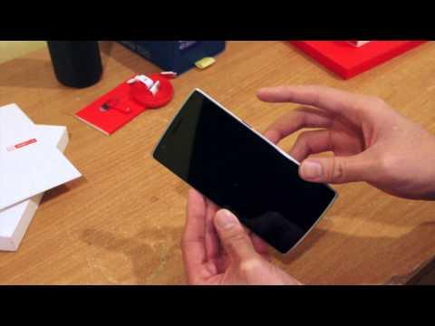 Mở hộp và trên tay điện thoại OnePlus One