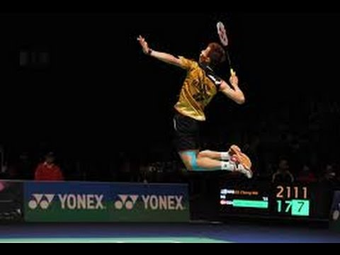amazing badminton rallies and trickshots
