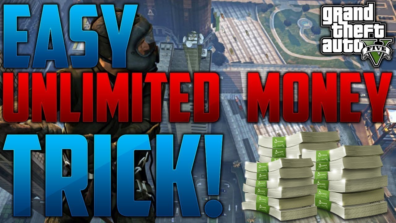 How to get unlimited money online in gta 5