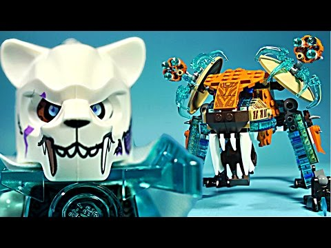 LEGO Chima 70143 Sir Fangar's Saber Tooth Walker