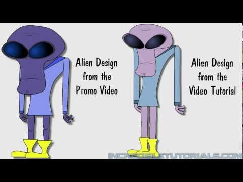Steve and the Alien: Lesson 2-2: Drawing the Alien
