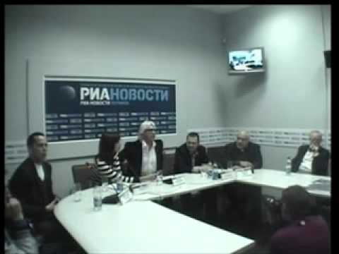Hvorostovsky - Press Conference in Ukraina, January 2010