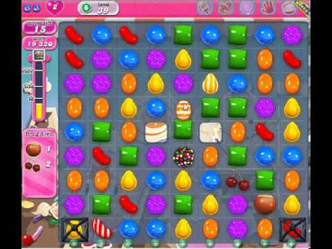 How to beat Candy Crush Saga Level 39 - 3 Stars - No Boosters - 78