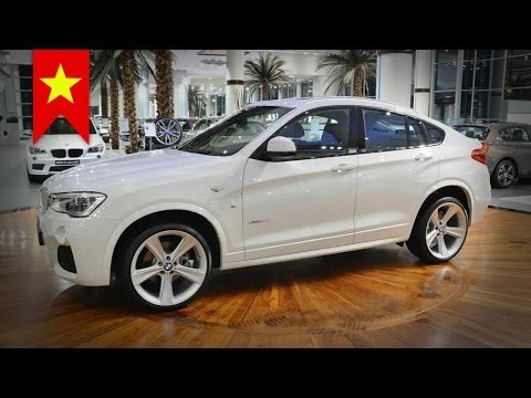 2015 BMW X4 M Sport Package seen at Abu Dhabi dealer