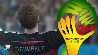 André Schürrle - All 3 Goals In 2014 World Cup (FIFA Remake)