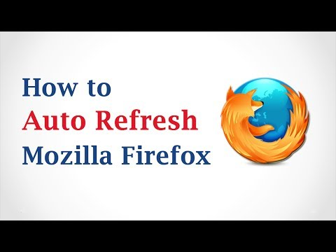 How to Auto-Refresh in Mozilla Firefox Browser?