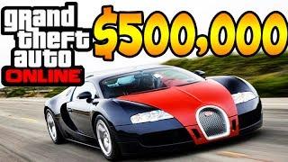 GTA V ONLINE: GASTANDO DINHEIRO DA ROCKSTAR U$ 500.000