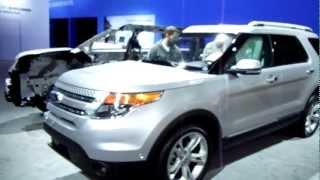Ford Explorer VS Mustang HeadsUp Drag Race 1/8mile videos