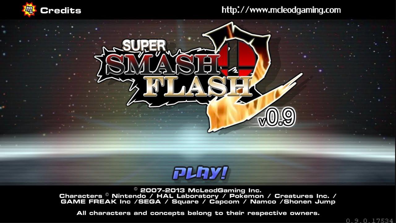 Super smash flash2 download super smash flash 2 demo v0 9 lloyd vs