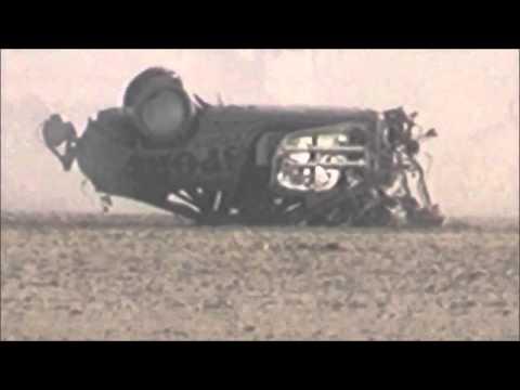 image vidéo Brian Gillespie se crashe à 300 km/h en voiture
