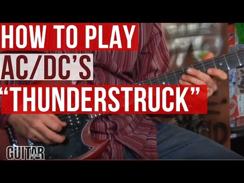 how to play thunderstruck