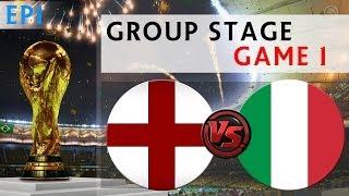 [TTB] 2014 FIFA World Cup Brazil England Vs Italy