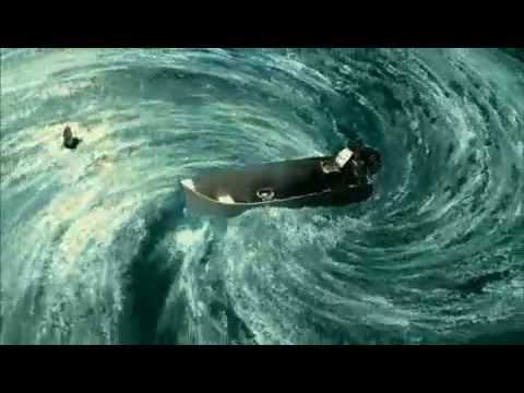 Piranha 3D - Opening Scene: Earthquake/Fishermen's Death