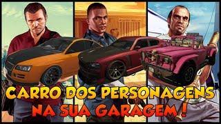 (PS3)GTA V ONLINE COLOCANDO CARROS DO MODO OFFLINE NA