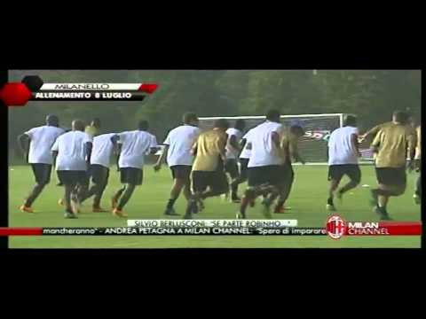 First Training in  Milanello 08-07-2013 Part 1