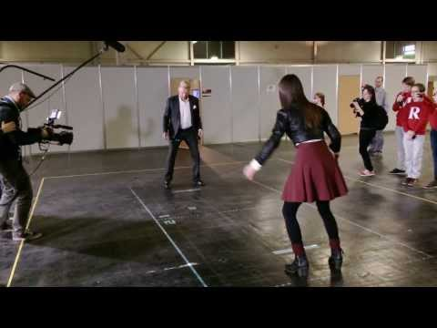 Boris Becker playing BITBALL backstage at ZDF Wetten, dass..?