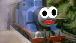 THOMAS IS FIRIN HIS LAZER!!!!1!!11!!!11111!!!!!!!!!ONE