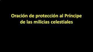 Oracion A San Miguel Arcangel Oración De Protección Al