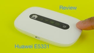Huawei E5331 21Mbps Mobile WiFi Hotspot Review
