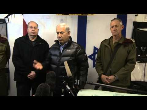 PM Netanyahu Visits IDF Base Treating Wounded from Syria