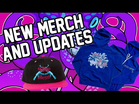 New 50% OFF Merch and Updates!