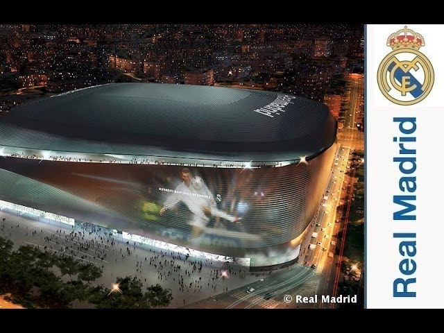 Realmadrid LIFE: The new Santiago Bernabéu stadium unveiled