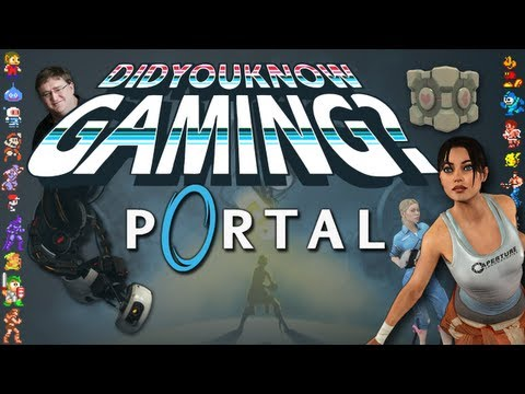 Portal - Did You Know Gaming? Feat. MatPat from Game Theory, http://didyouknowgaming.com - http://vgfacts.com Check out lots more trivia at our website, you can also follow us at the links below. Like us on Facebook: h...