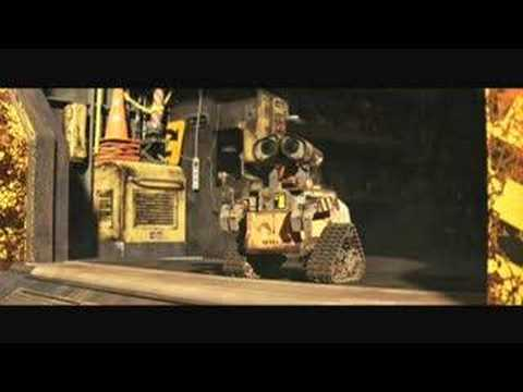 Pixar Wall-E Movie Trailer