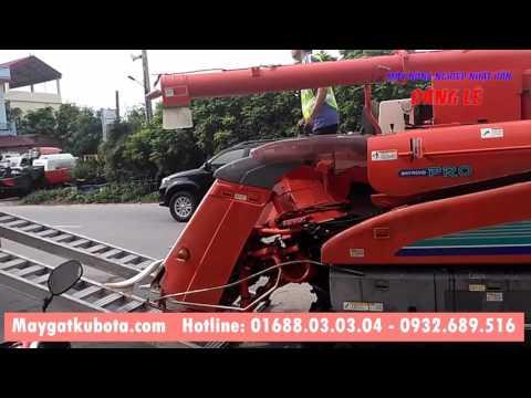 Xuất bán máy gặt kubota SR35 tại Bắc Giang