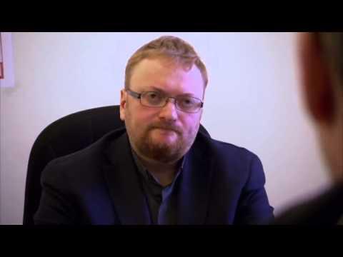 Stephen Fry vs deputy Milonov