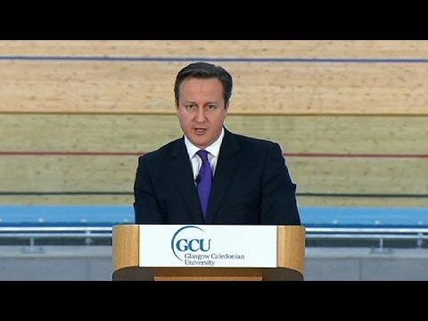 David Cameron urges UK to keep Scotland in the fold