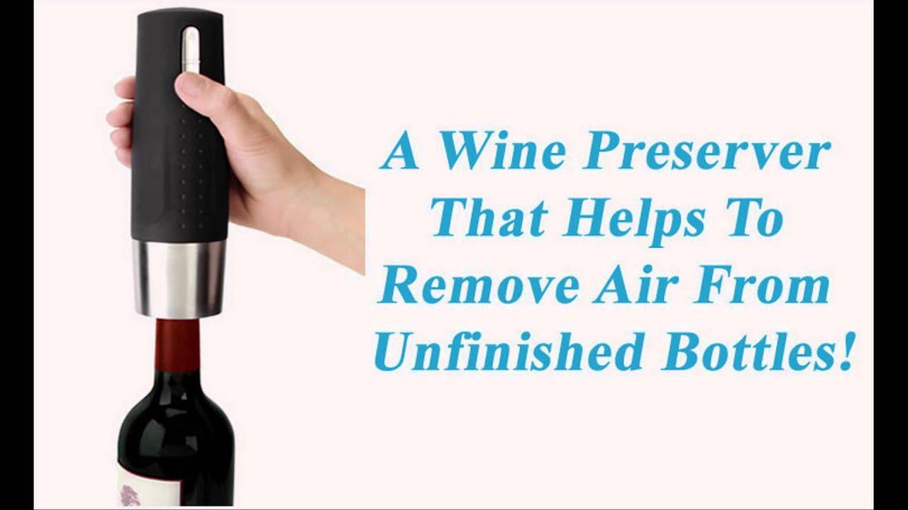 electric wine bottle opener youtube electric wine bottle opener by oster youtube electric wine. Black Bedroom Furniture Sets. Home Design Ideas