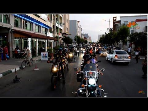 ملتقى الدراجات النارية بالقصر الكبير