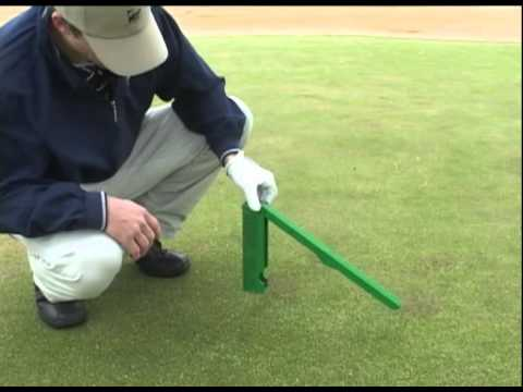 how to read golf greens for speed and break