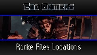 Call Of Duty: Ghosts Rorke Files Locations