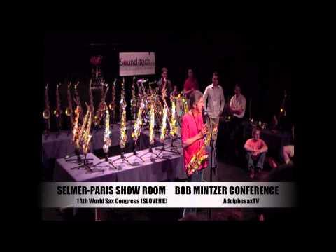 """Selmer-Paris Show Room """"Bob Mintzer Conference"""""""