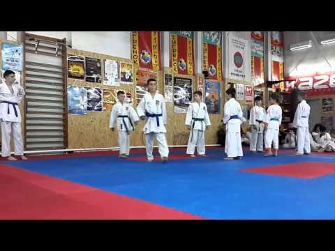 Аттестационный экзамен по каратэ в клубе Тигренок 24.04.2016 г. ч 5