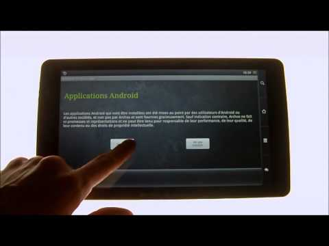 Archos 101 Internet tablet - OTA Update froyo android 2.2