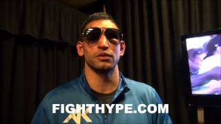 AMIR KHAN POST-FIGHT REACTION TO MAYWEATHER VS. MAIDANA