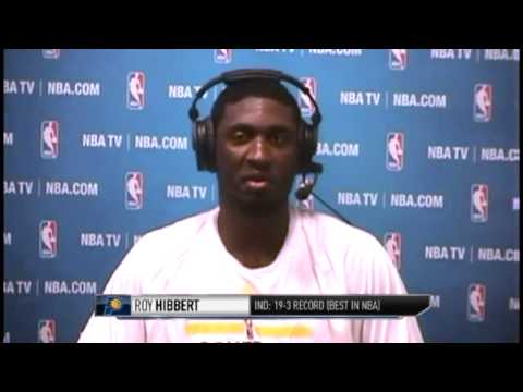 NBACalifornia: Roy Hibbert | Miami Heat vs Indiana Pacers | December 10, 2013 | NBA 2013-14 Season