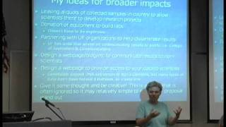 NSF doctoral dissertation improvement grants, 2011 Grants and Fellowship Conference