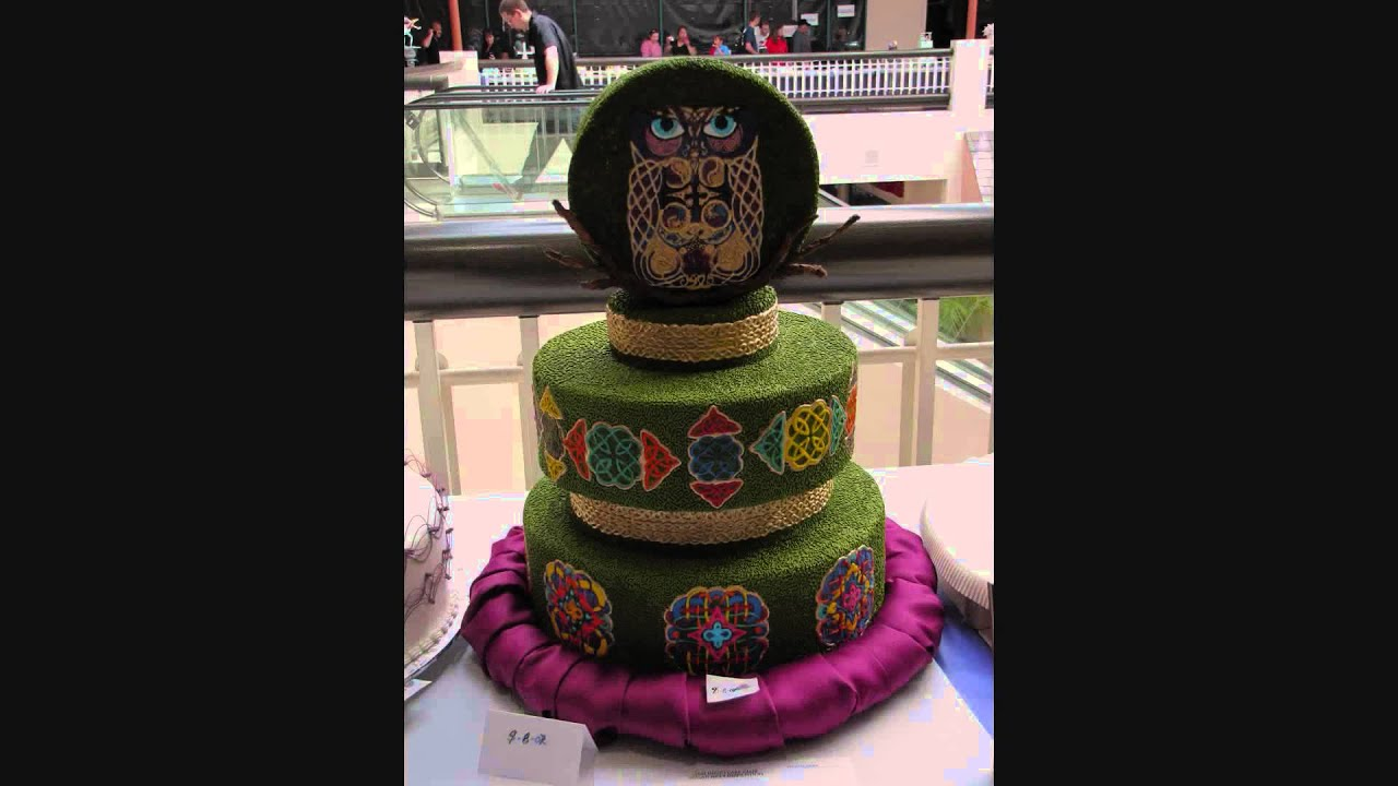 San Diego Cake Show & Competition 2013. - YouTube