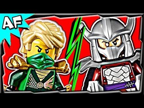 Hình ảnh trong video Ninjago LLOYD vs SHREDDER TMNT - Lego
